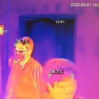 発熱検知サーマルカメラ運用映像